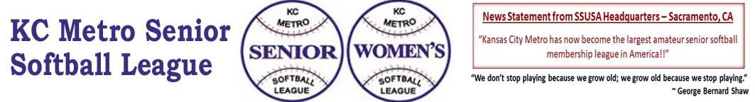 Tournaments | KC Metro Senior Softball League