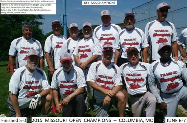 2015 Missouri Open Champions